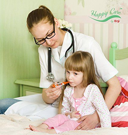 Fast 20 Seconds Best Clinical Digital Body Thermometer for Oral, Body Temperature Measurement