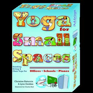 Yoga for Small Spaces-great tool for learning and calming stress/anxiety in speech and language students. From Say It Right. Pinned by SOS Inc. Resources. Follow all our boards at pinterest.com/sostherapy for therapy resources.