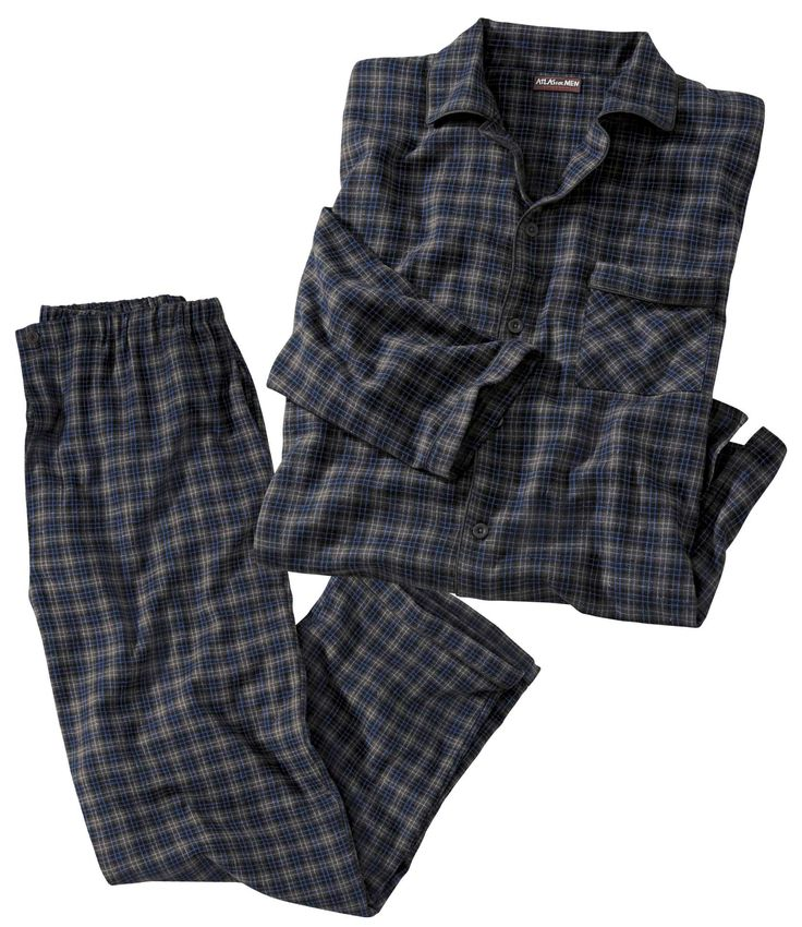 Pyjama Flanelle à Carreaux #atlasformen #formen #discount #shopping #ootd #outfit #fashion #timeless #instafashion #casual #style #travel #voyage  #winter #hiver