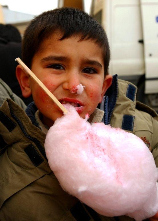 Messy Cotton Candy, Turkey