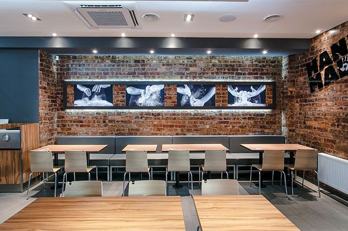 17 best ideas about fast food restaurant on pinterest for International seating and decor