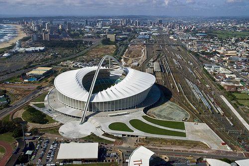 Moses Mabhida Stadium.