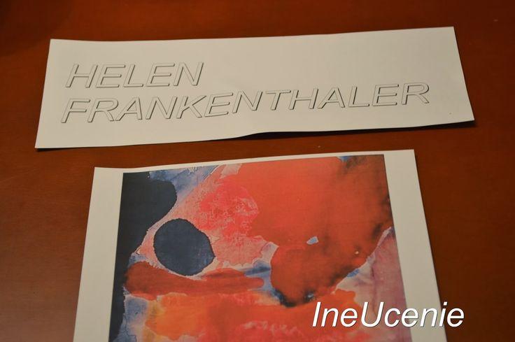 Iné Učenie: Výtvarné umenie pre deti - Frankenthaler a Renoir