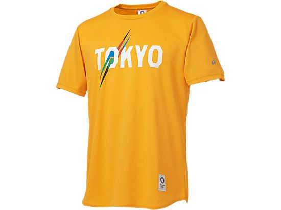 Tシャツ(東京2020オリンピックエンブレム) イエロー 3