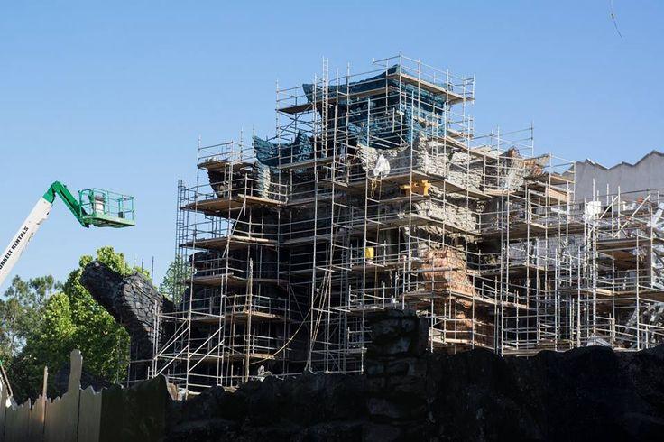 Bauarbeiten King Kong