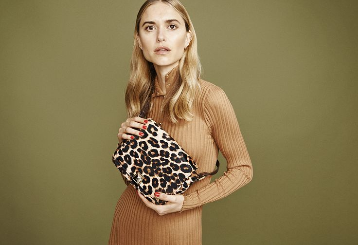 Pernille Teisbaek with the lovely S A H A R A shoulder bag<3 SPRING SUMMER 2016 CAMPAIGN #leowulff