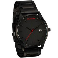 Black / Black Watch | MVMT Watches