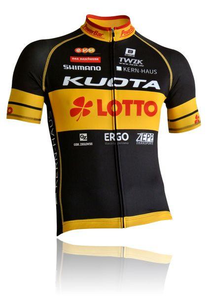BIEHLER Performance Radtrikot Kuota Lotto Made in Germany kaufen | Biehler Sportswear - Made in Germany - Onlineshop