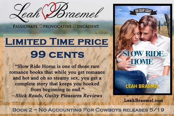 On sale for a limited time!!!  #99cents  http://www.amazon.com/Slow-Ride-Home-Grady-Legacy-ebook/dp/B00EFPNV5W/ref=sr_1_1?ie=UTF8&qid=1398973619&sr=8-1&keywords=slow+ride+home