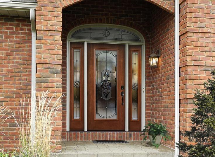 Elegant andersen Entry Doors with Sidelights