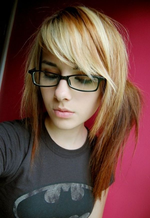 Excellent 1000 Images About Emo Hair On Pinterest Emo Hairstyles Emo Short Hairstyles For Black Women Fulllsitofus