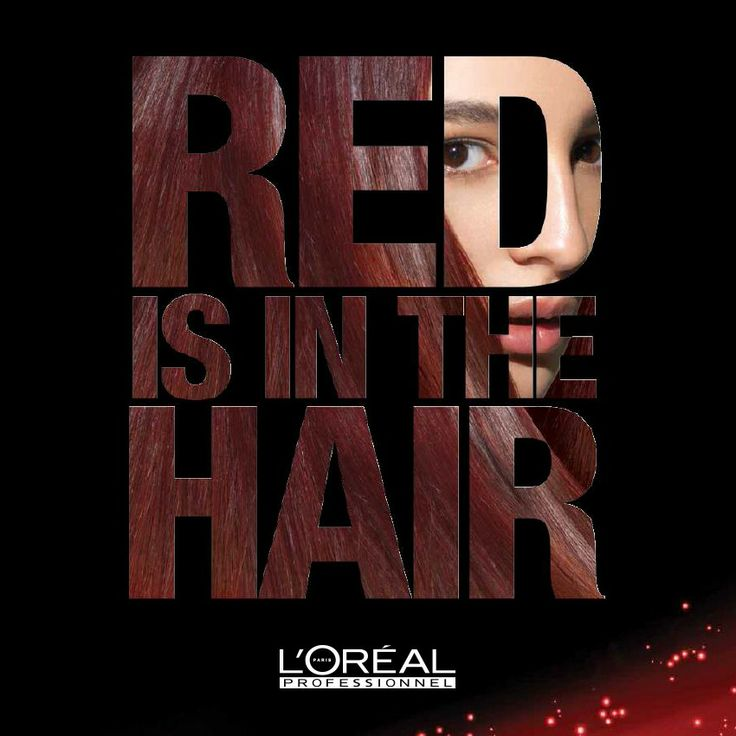 #red #hair #trend #lorealprofessionnel