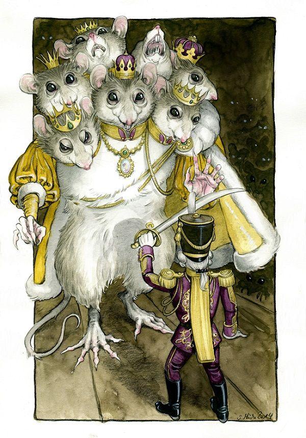 Nutcracker and Mouseking by Luisa Kelle (cidaq on deviantART)