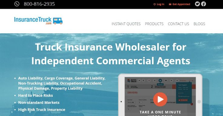 Truck Insurance Wholesaler for Independent Commercial Agents http://quote.insurancetruck.com