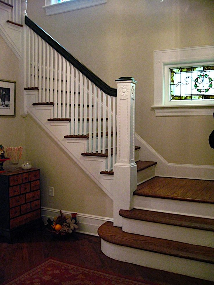 Basement Stair Landing Decorating: Same Layout As Our New Staircase