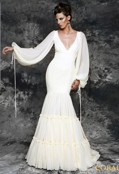 Flamenco Fashion for Brides by Vicky Martin Berrocal