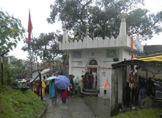 Nahan is a small town in Himachal Pradesh with a rich and rustic culture. Each year a day after Janamashtmi, a small fair is celebrated in the Gugga Madi temple of Nahan which is located in Haripur Mohalla near Hospital Round. Many devotees fro in and around the town come and take the blessing from the powerful shrine which is quiet famous in the area.