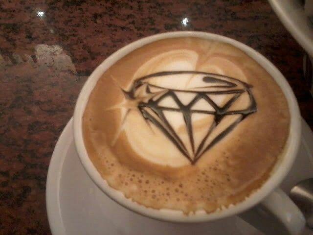 Diamond cappuccino