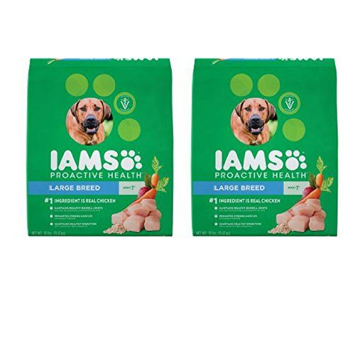 Iams Proactive Health Large Breed Adult Dry Dog Food Chicken 30 Lb