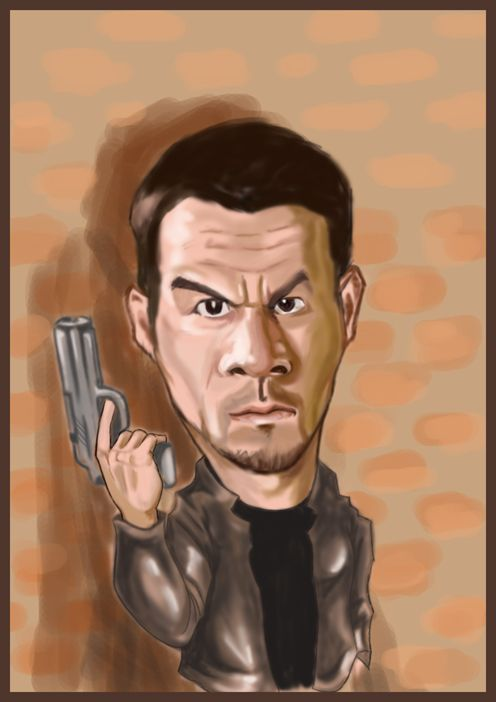 Mark Wahlberg (Caricature) http://dunway.us