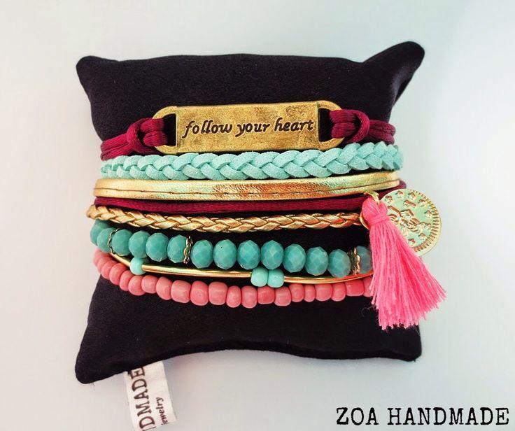 That colors bracelets