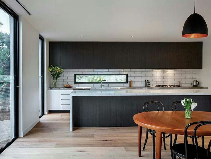 the 25+ best black splashback ideas on pinterest | modern kitchen
