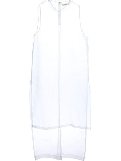 GIVENCHY - sheer organza dress 6