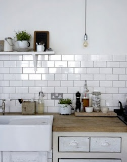 We can keep that tile bright white!