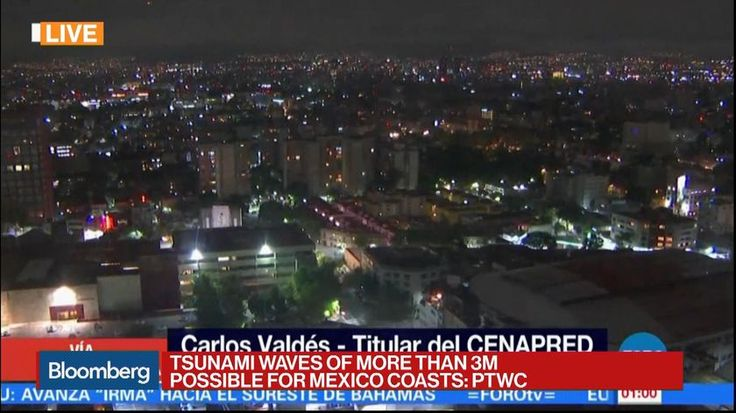 Mexico was hit by its strongest earthquake in more than a century, killing dozens of people in southern states and shaking buildings in the capital.