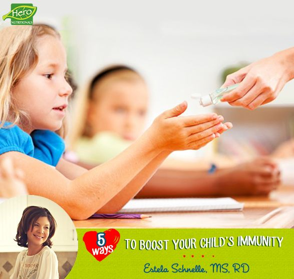 Five Ways to Boost Your Child's Immunity   WeeklyBite