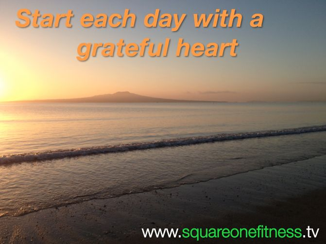 Beautiful Takapuna Beach, Auckland! An early morning beach walk was a lovely start to the day. Start each day grateful for what you have… www.squareonefitness.tv