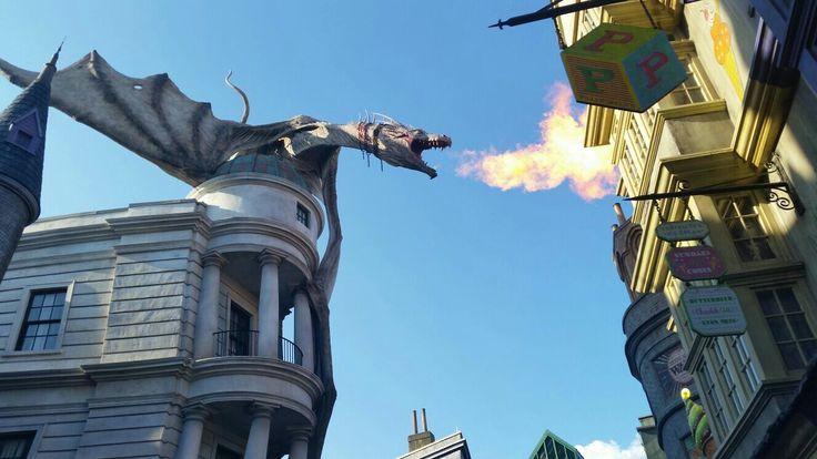 "Diagon Alley, ""London"", Universal Studios, Florida"