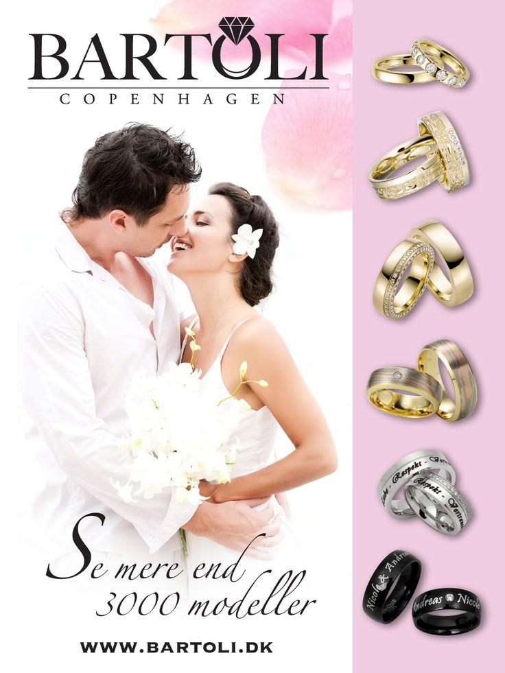 Dette er en annonce for www.bartoli.dk, som vi har fået lavet for bladet Bryllup og Fest, som bliver omdelt i alle landets Lillybutikker. Vi synes selv den er meget fin, og håber at alle kommende brude og brudgommer kan blive inspireret :)
