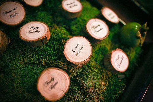 something borrowed - eucalyptus name cards