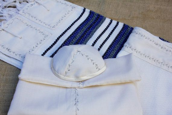 This contemporary design with traditional tallit Pure by LaMaurer