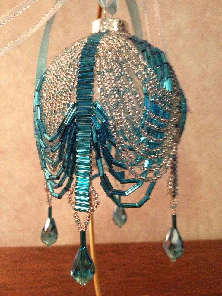 "Beaded Ornament. (no info, idea only)      (I'm not ""user"")"