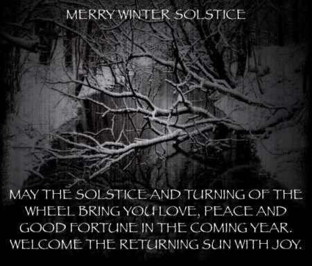 Winter Solstice December 21, 2014. Click Picture For Full Article