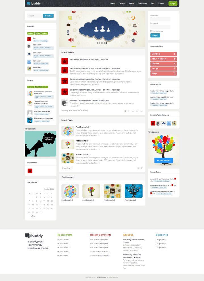 The 55 best Les plus beaux thèmes Wordpress images on Pinterest ...
