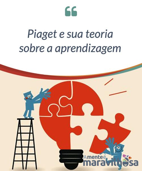 Piaget e sua teoria sobre a aprendizagem.  Jean #Piaget é um dos nomes #escritos com letras de ouro na #psicologia. Sua #teoria sobre a aprendizagem cognitiva #infantil faz com que o #conheçamos hoje em dia como o pai da #pedagogia #moderna.