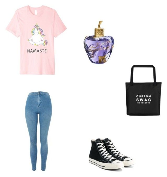 Bez tytułu #84 by wiki208 on Polyvore featuring moda, Topshop, Converse and Lolita Lempicka