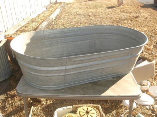 1000 ideas about wash tubs on pinterest galvanized tub for Oval garden tub