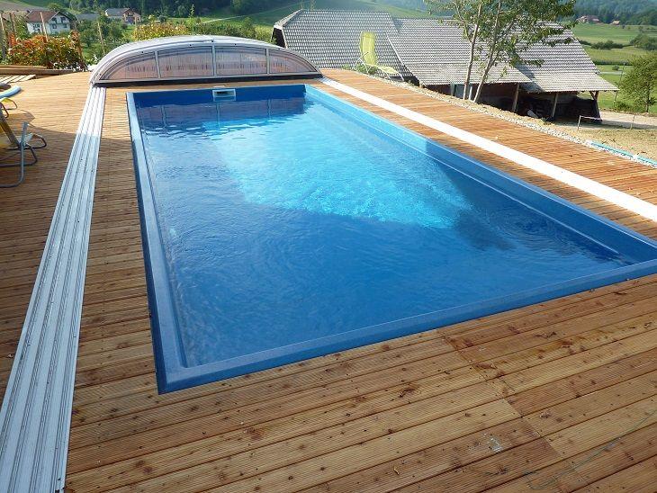 Keramický bazén Trend je bezúdržbový samočistiaci bazén, ktorý vyrába spoločnosť Compass. Má optimálny rozmer v tvare obdĺžníka.