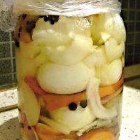 Recept : Pikantní nakládaná vejce | ReceptyOnLine.cz - kuchařka, recepty a inspirace