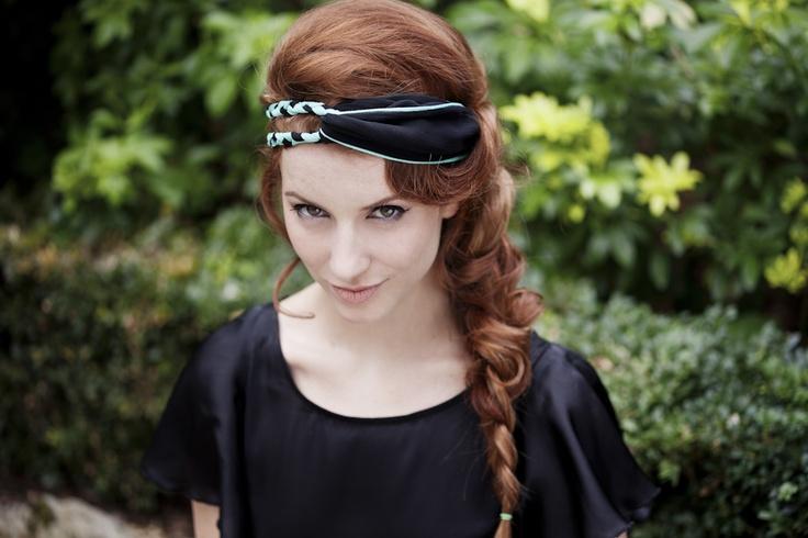 Lucia aqua, turban