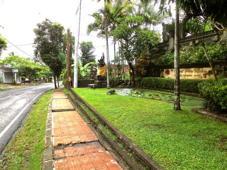 Street in front of Entrance The Royal Pita Maha Resort #ALIKA
