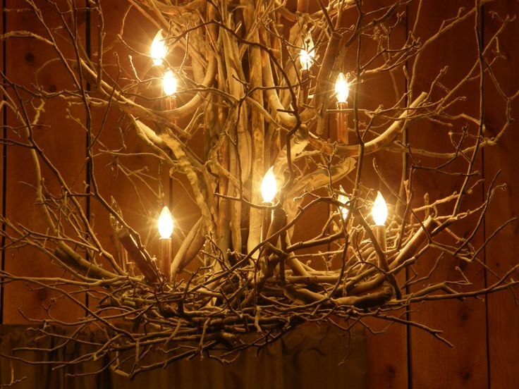 Is this too rustic ski lodge'y? My lighting contact can make these!