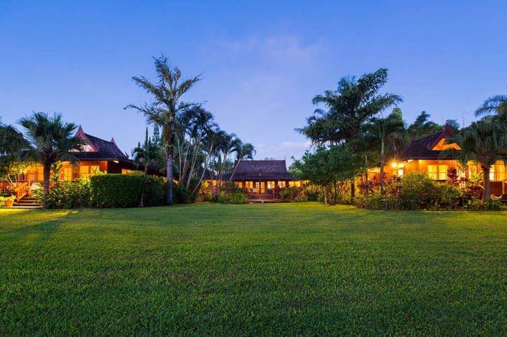 Your Private Retreat; Sauna, Pool, Hot-tub, Tennis - Houses for Rent in Haiku-Pauwela