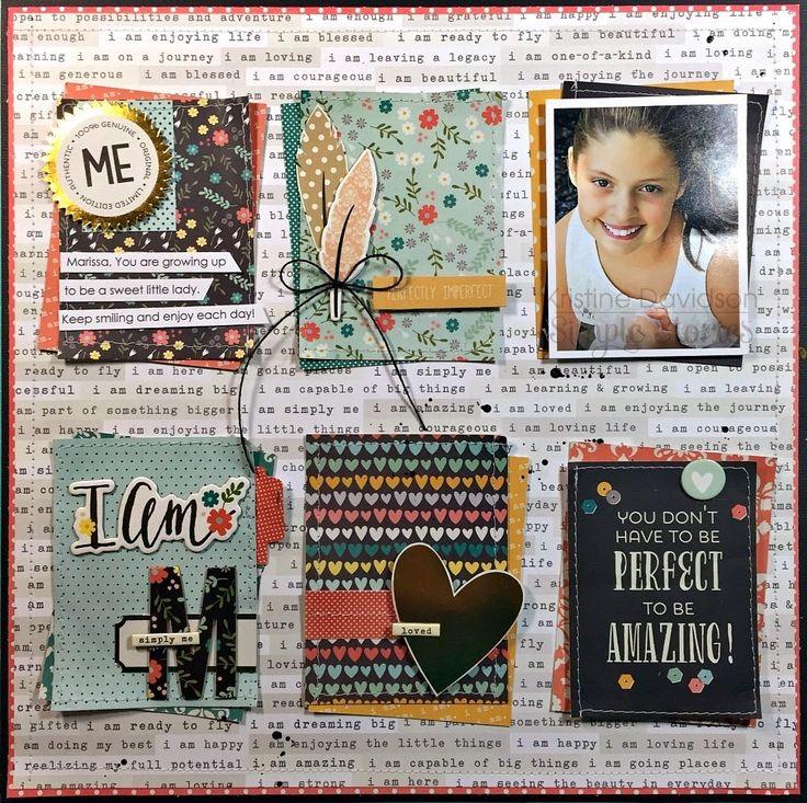 Kristine Davidson - Simple Stories I AM