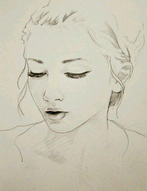 #girl, #art, #drawing