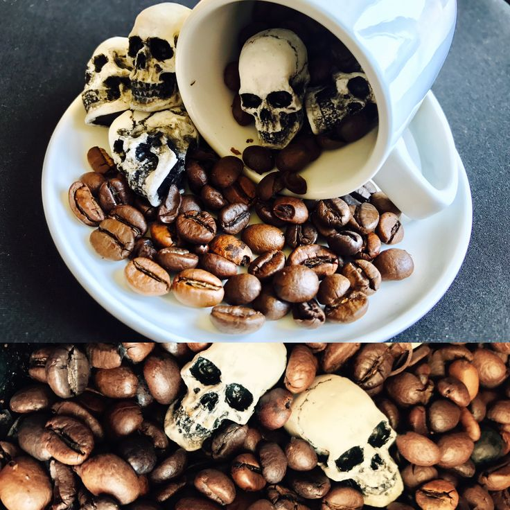 time to skulls coffee